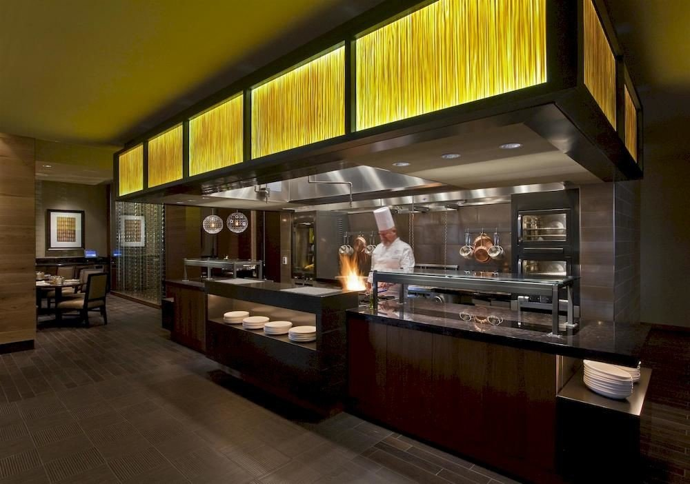 Kitchen restaurant Lobby Bar bakery appliance