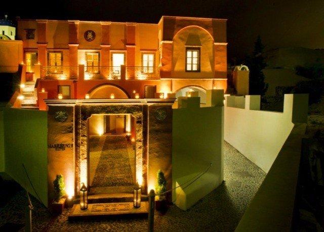 night lighting Bar restaurant mansion
