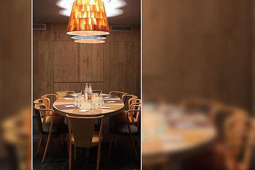 restaurant lighting Bar tiled