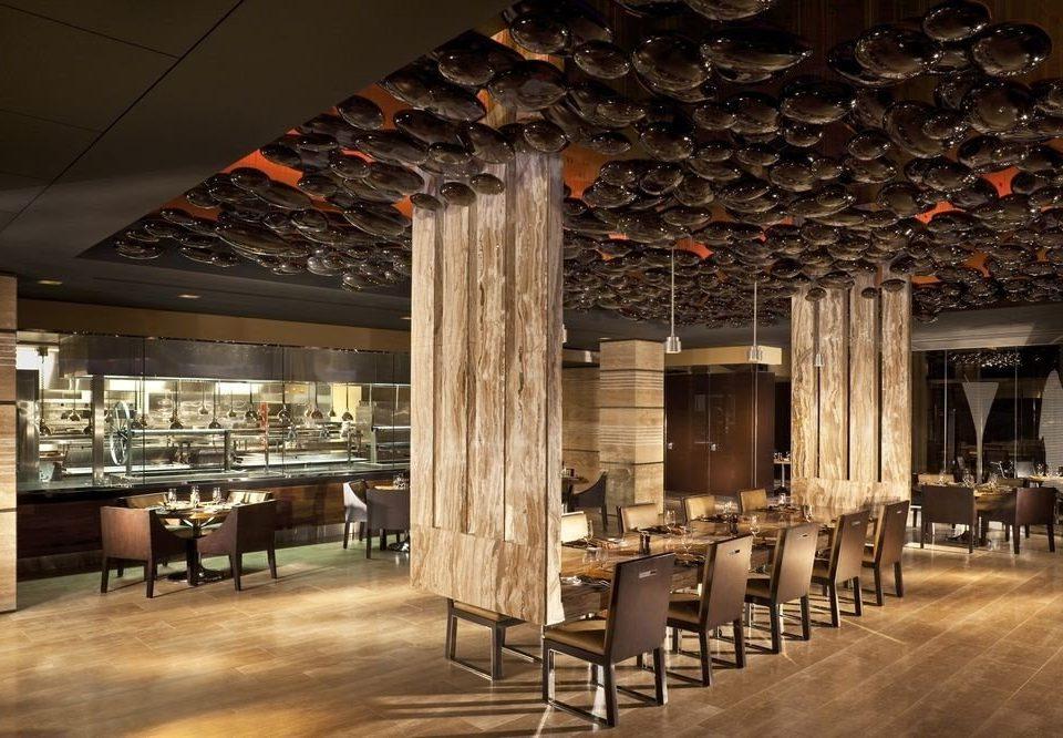 chair Lobby wooden restaurant function hall lighting Bar ballroom auditorium basement