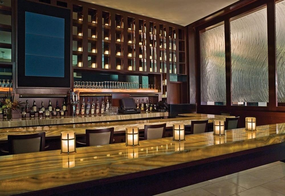 Bar Lobby long auditorium