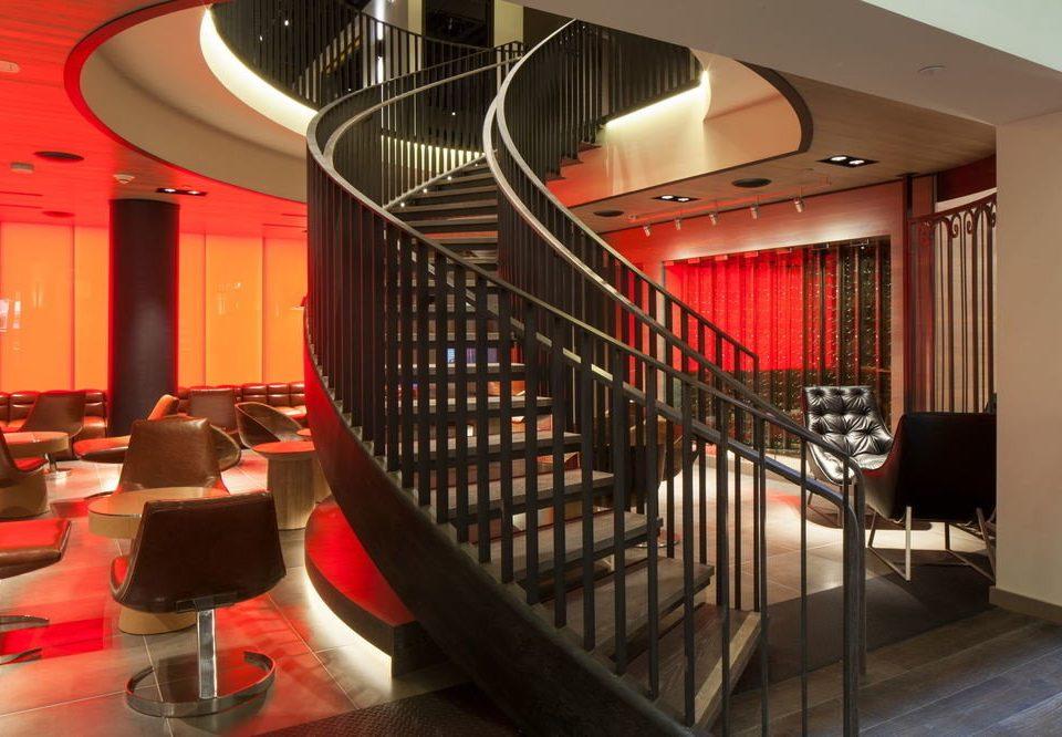 Lobby restaurant Bar auditorium steel