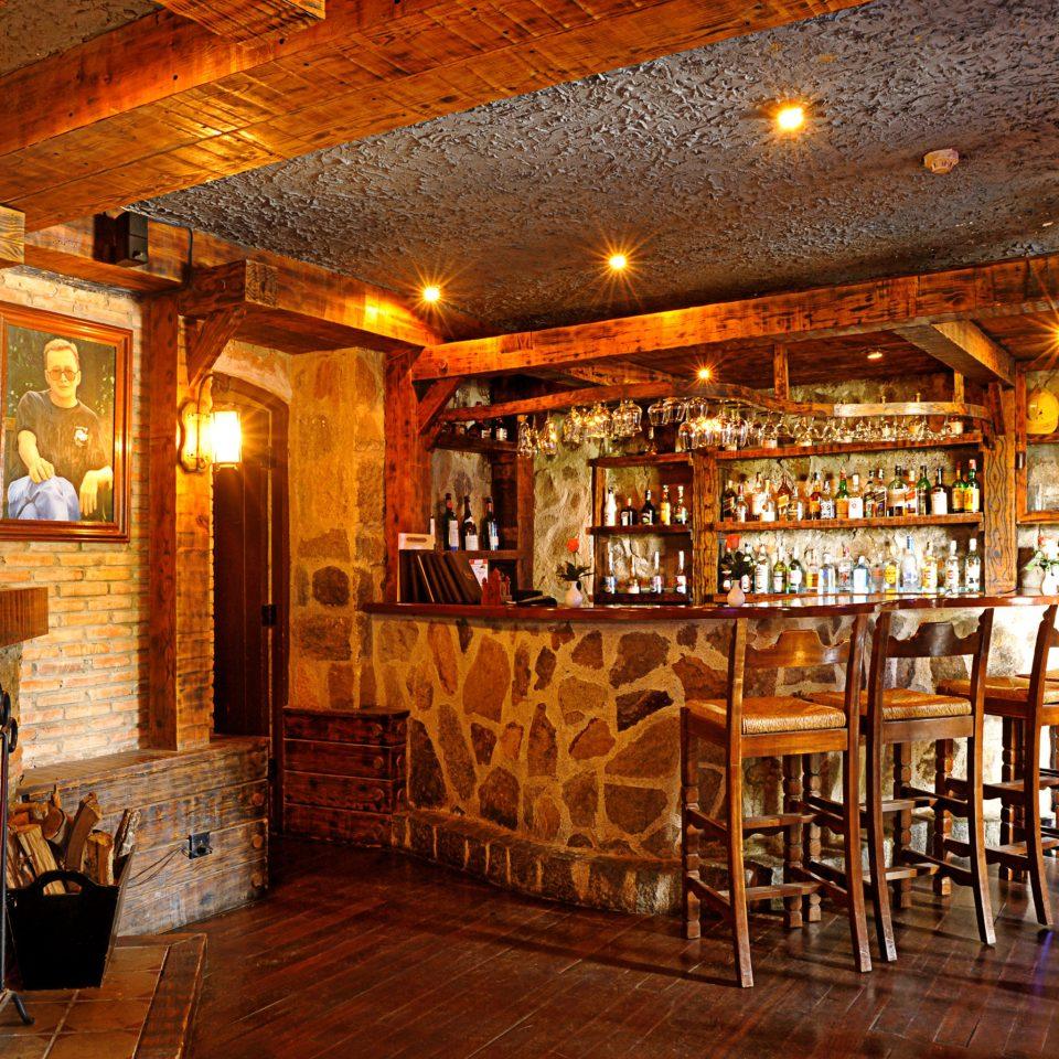 building Bar tavern restaurant Lobby café basement