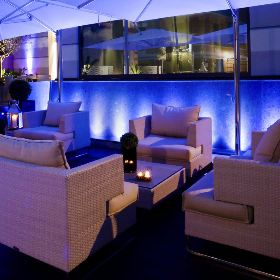 Lobby vehicle Bar nightclub convention center yacht blue night