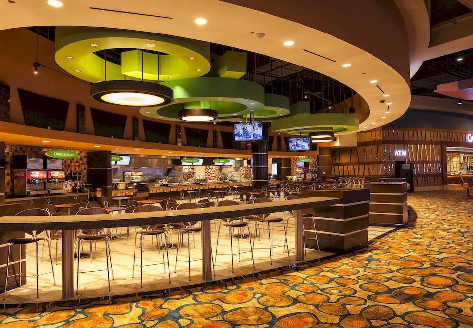 building night shopping mall Bar Lobby