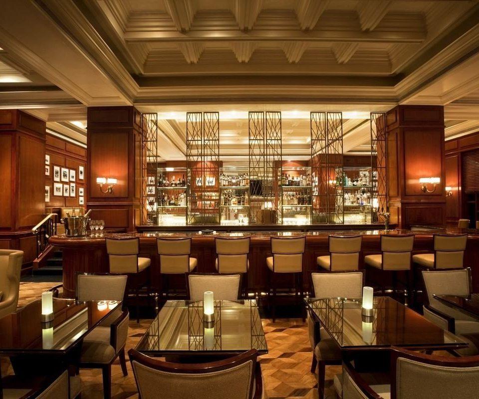 chair restaurant Lobby café function hall Bar convention center set