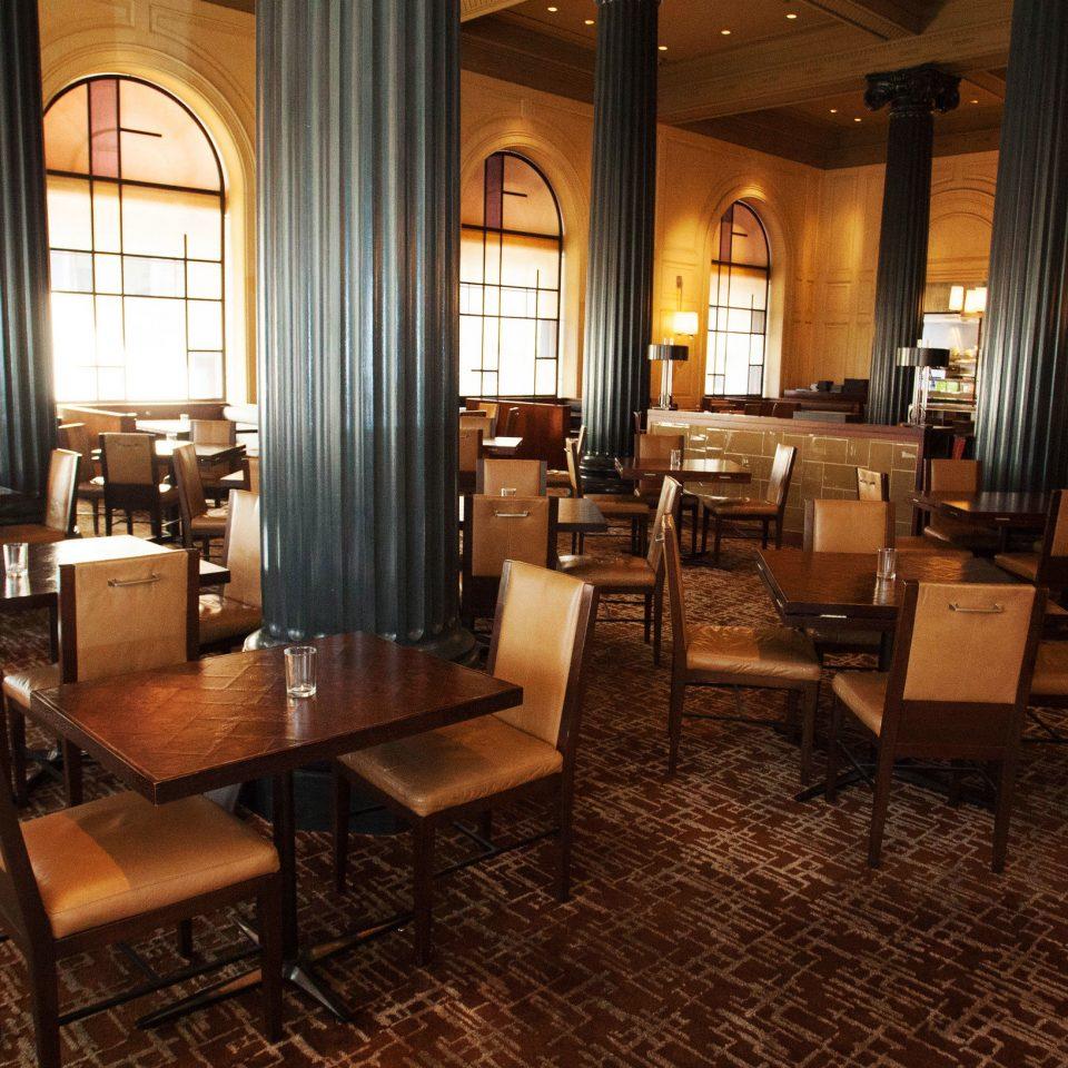 chair Lobby restaurant café Bar function hall dining table