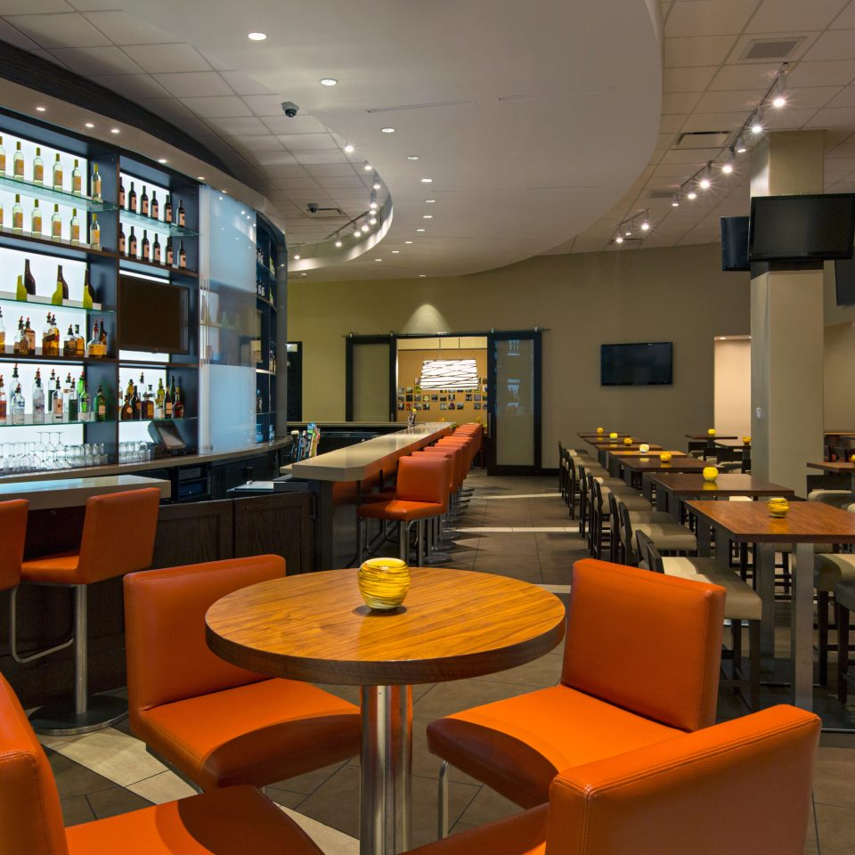 property Lobby restaurant café Bar condominium living room orange