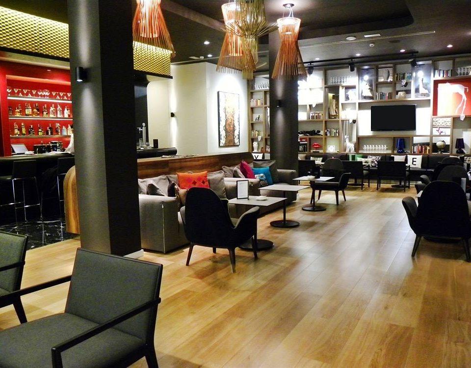 Lobby restaurant Bar living room café flooring hard