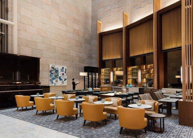 Lobby restaurant café Bar living room