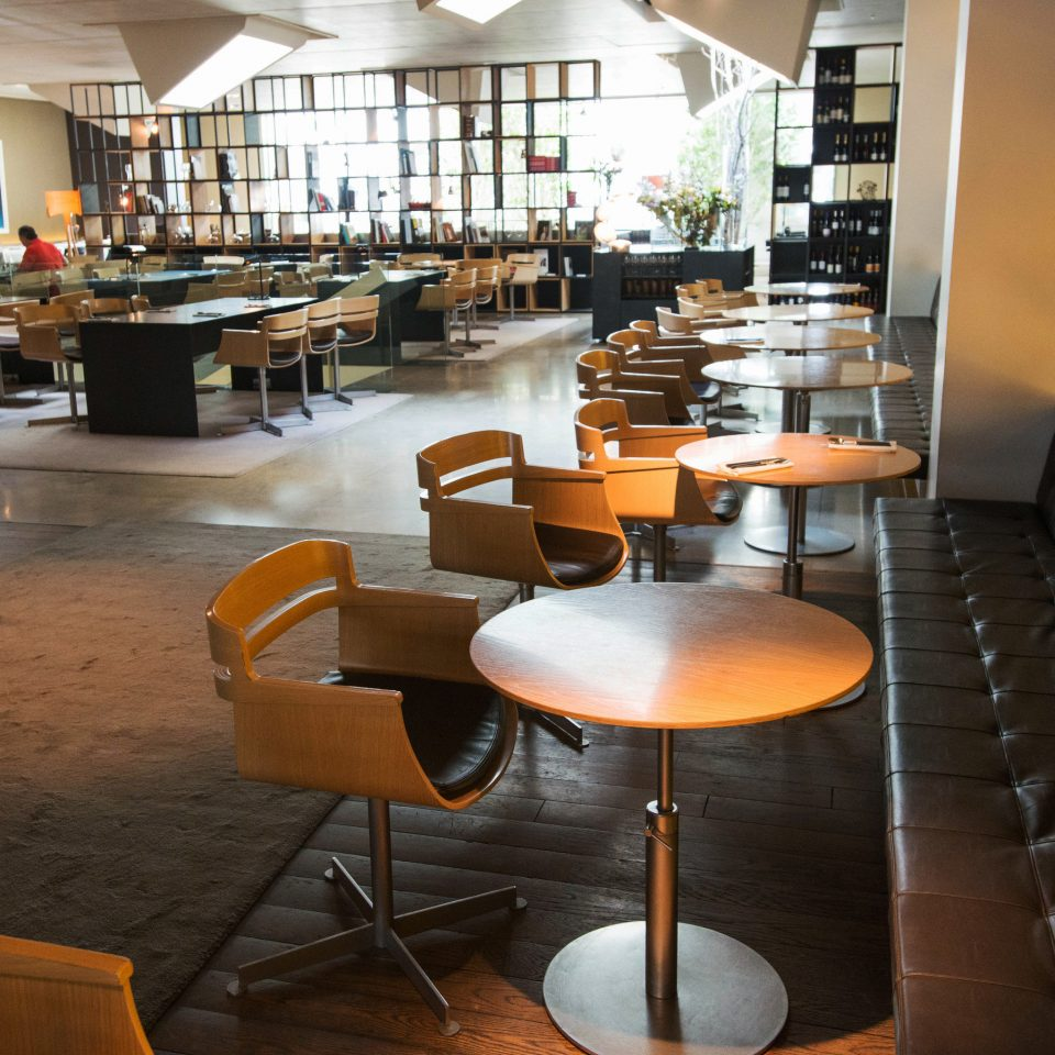 chair restaurant café cafeteria wooden Lobby Bar library