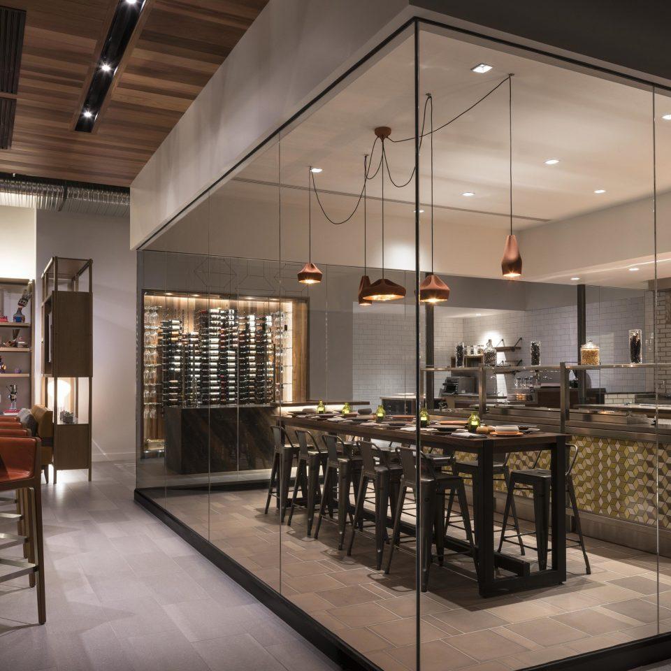 Lobby restaurant lighting cafeteria counter Bar