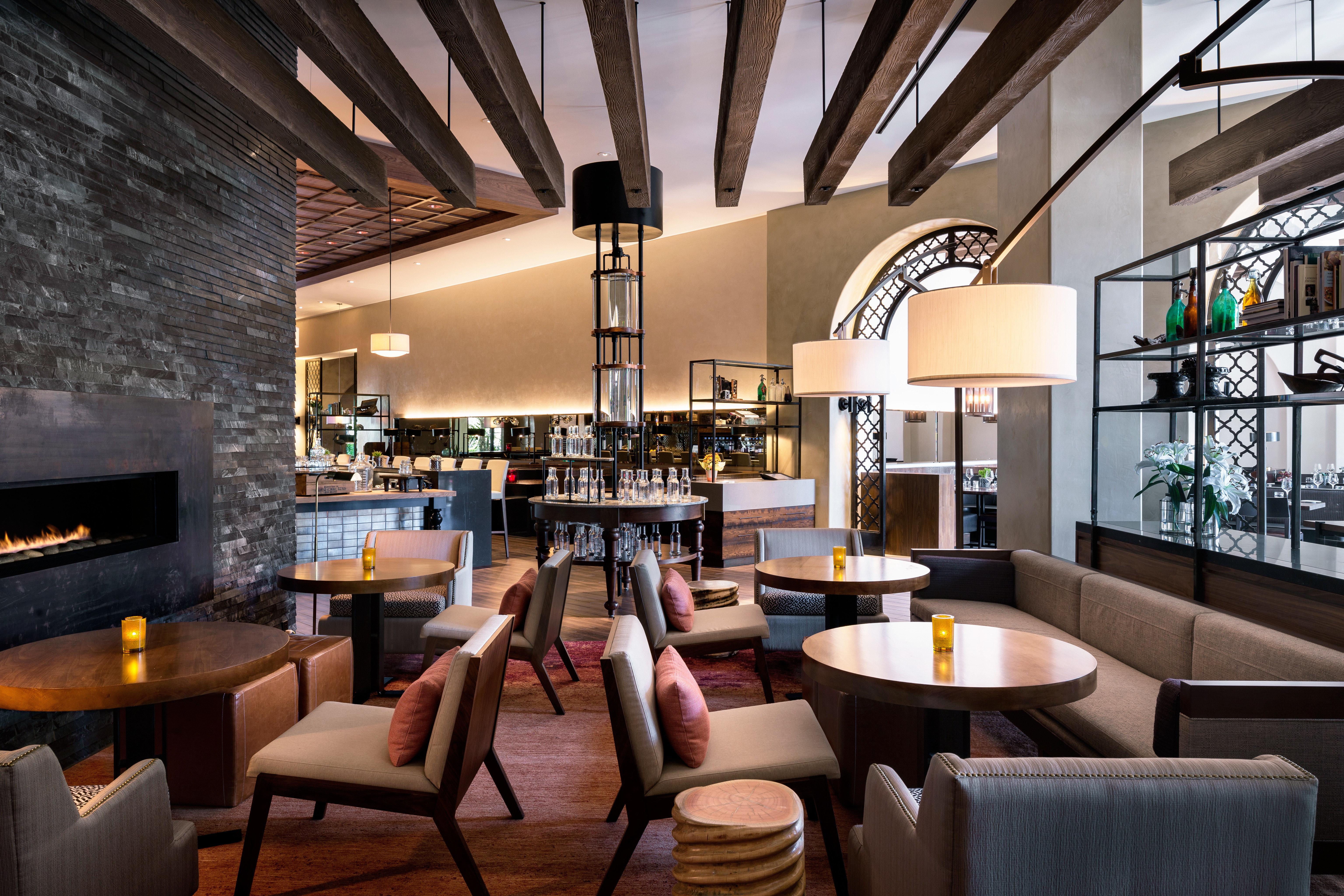 chair property Lobby restaurant living room Bar dining table
