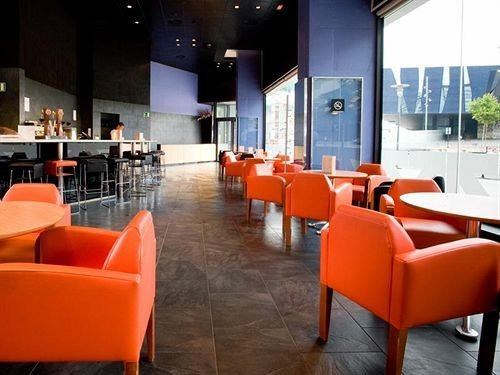 chair orange Lobby restaurant Bar waiting room function hall