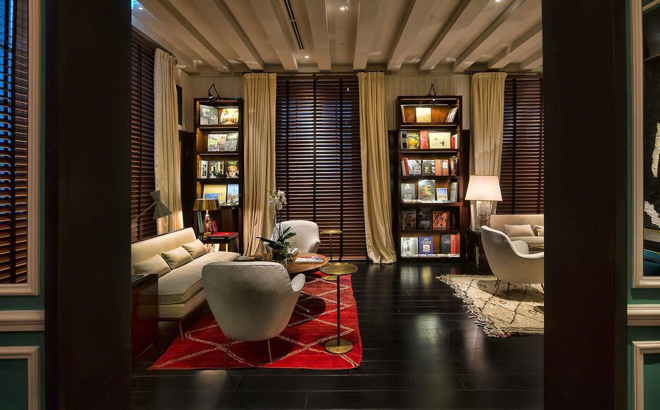 Lobby living room condominium home restaurant Bar