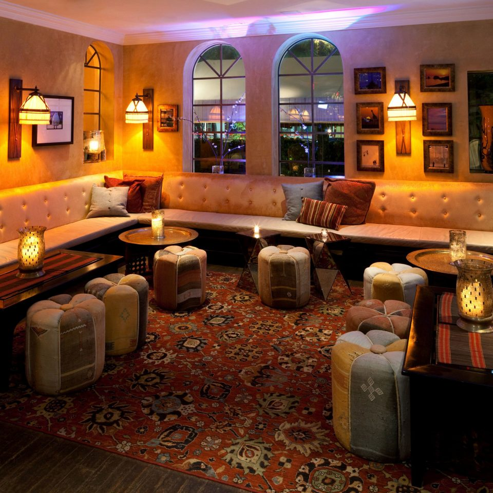 Lobby recreation room Bar restaurant living room home function hall
