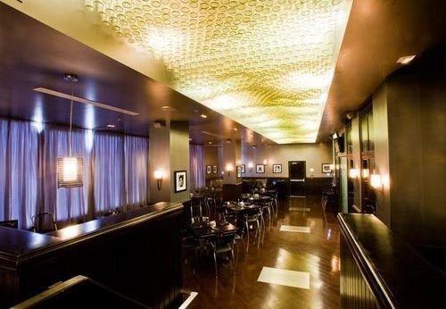 restaurant Lobby Bar lighting function hall steel stainless