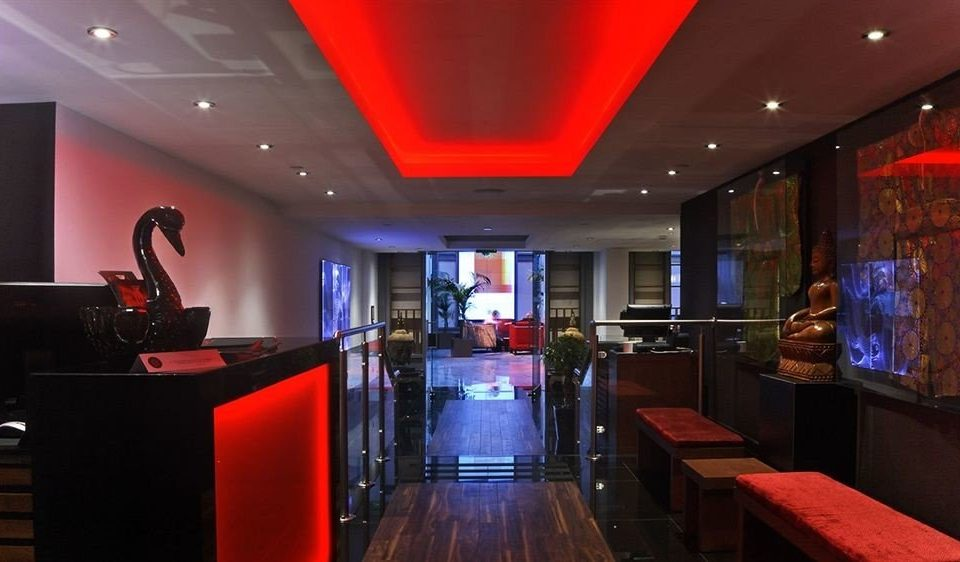 red Bar recreation room nightclub restaurant function hall Lobby