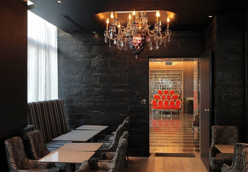 restaurant lighting living room home Bar Lobby stone