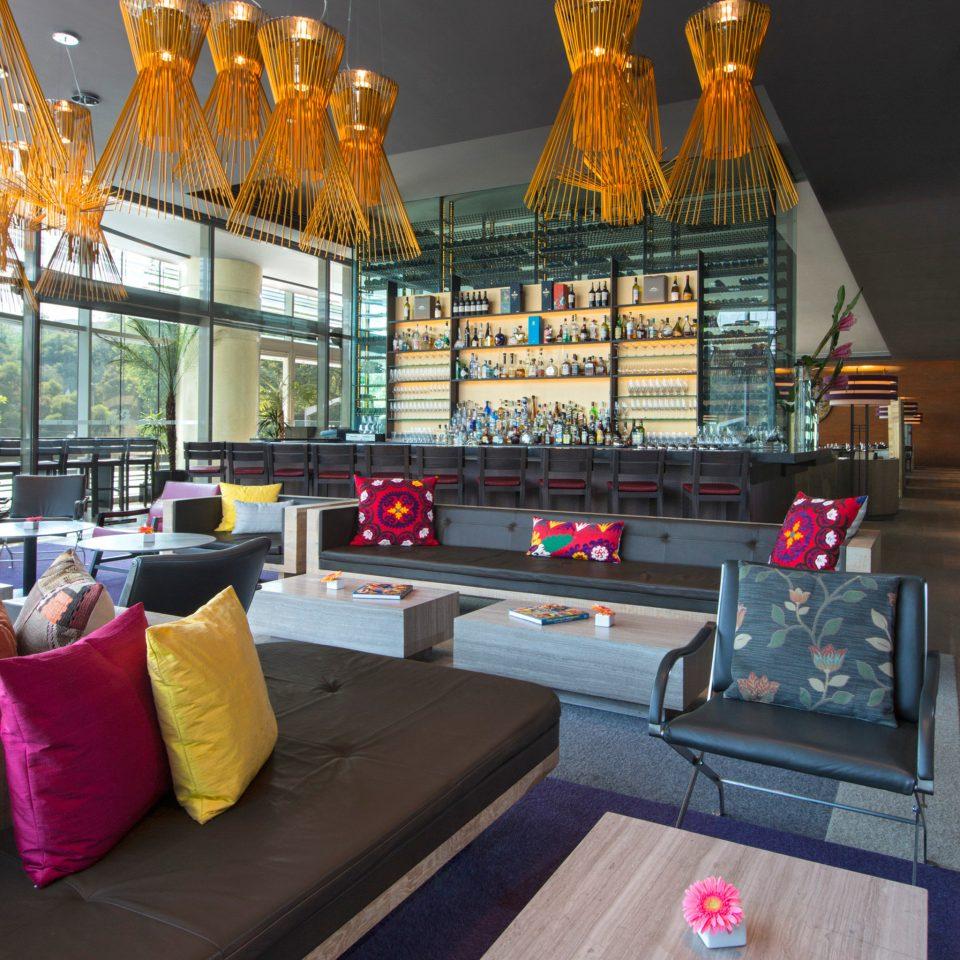 Lobby recreation room living room home Bar