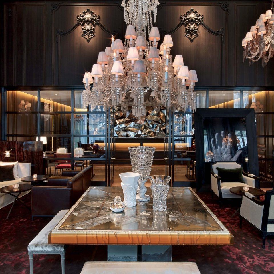 Lobby living room restaurant lighting Bar stone