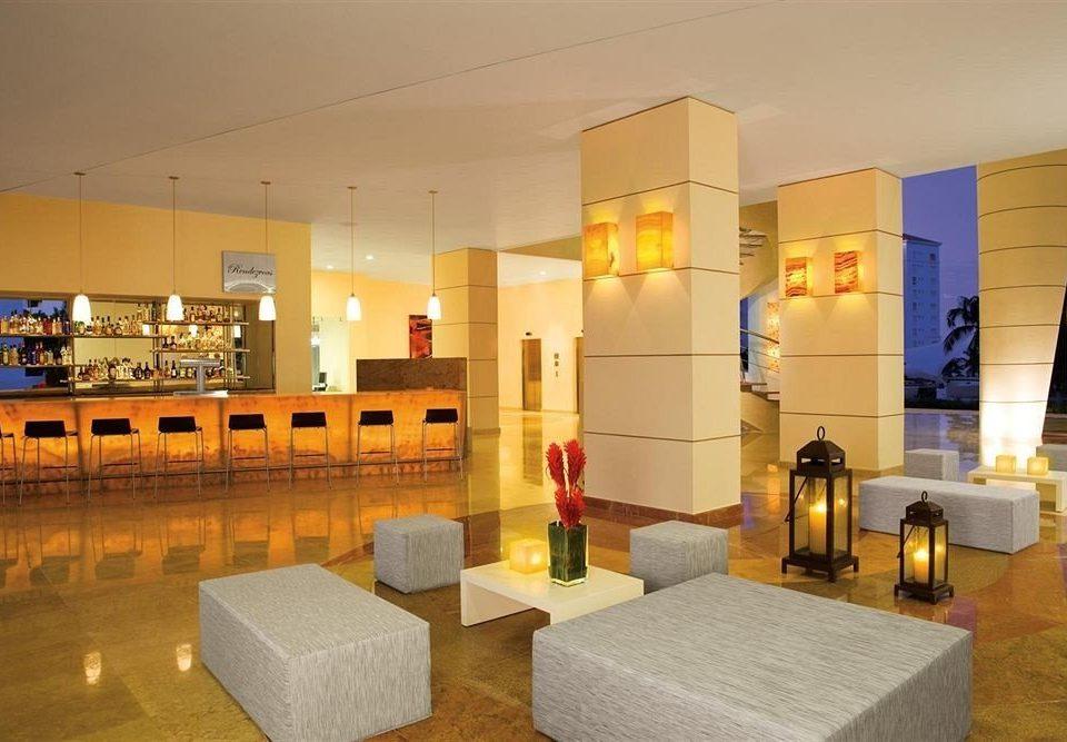 property Lobby lighting living room long Bar