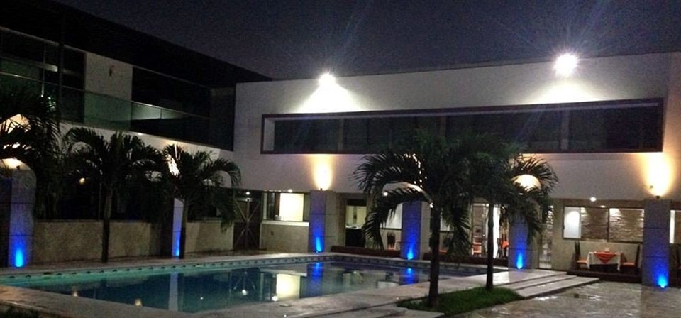 property Lobby lighting Bar swimming pool