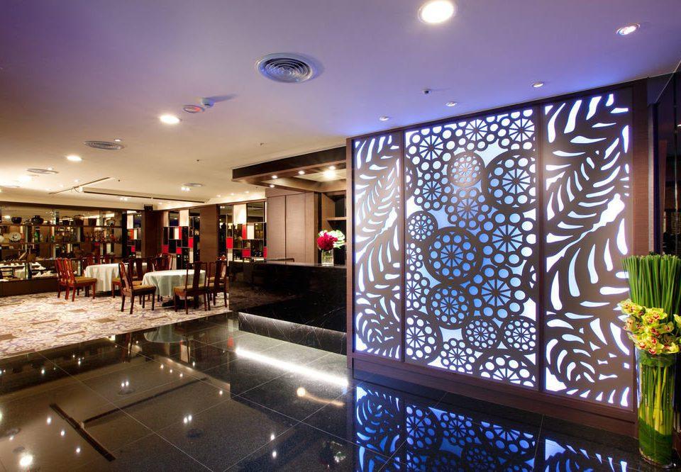 Lobby lighting Bar restaurant