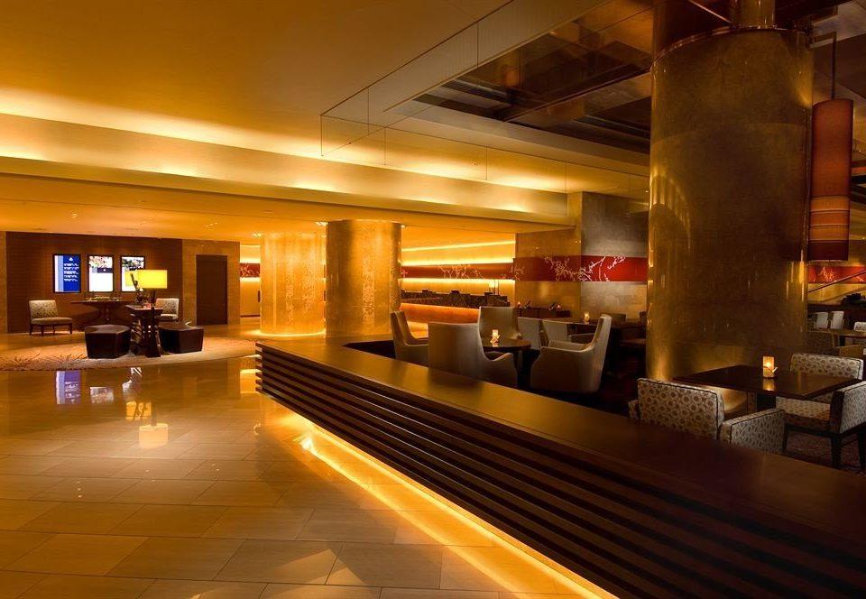Lobby lighting restaurant Bar