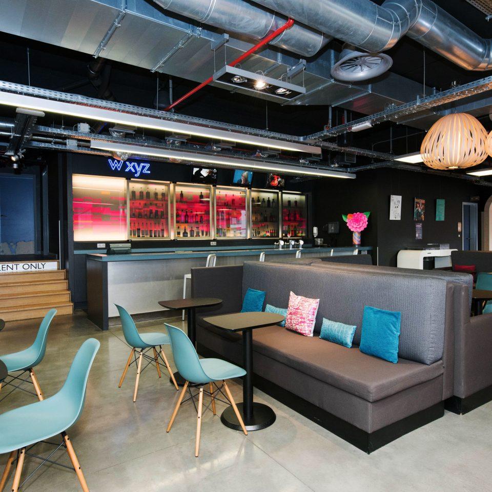 recreation room living room vehicle Bar Lobby
