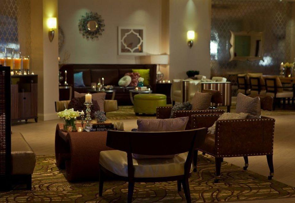 Lobby living room restaurant Bar