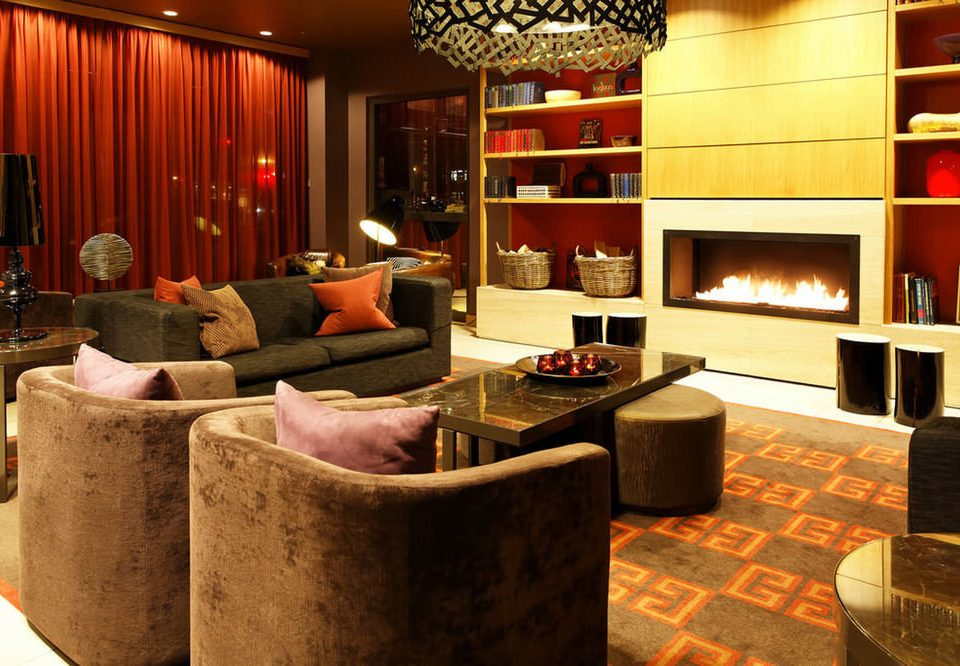Lobby living room Bar shelf
