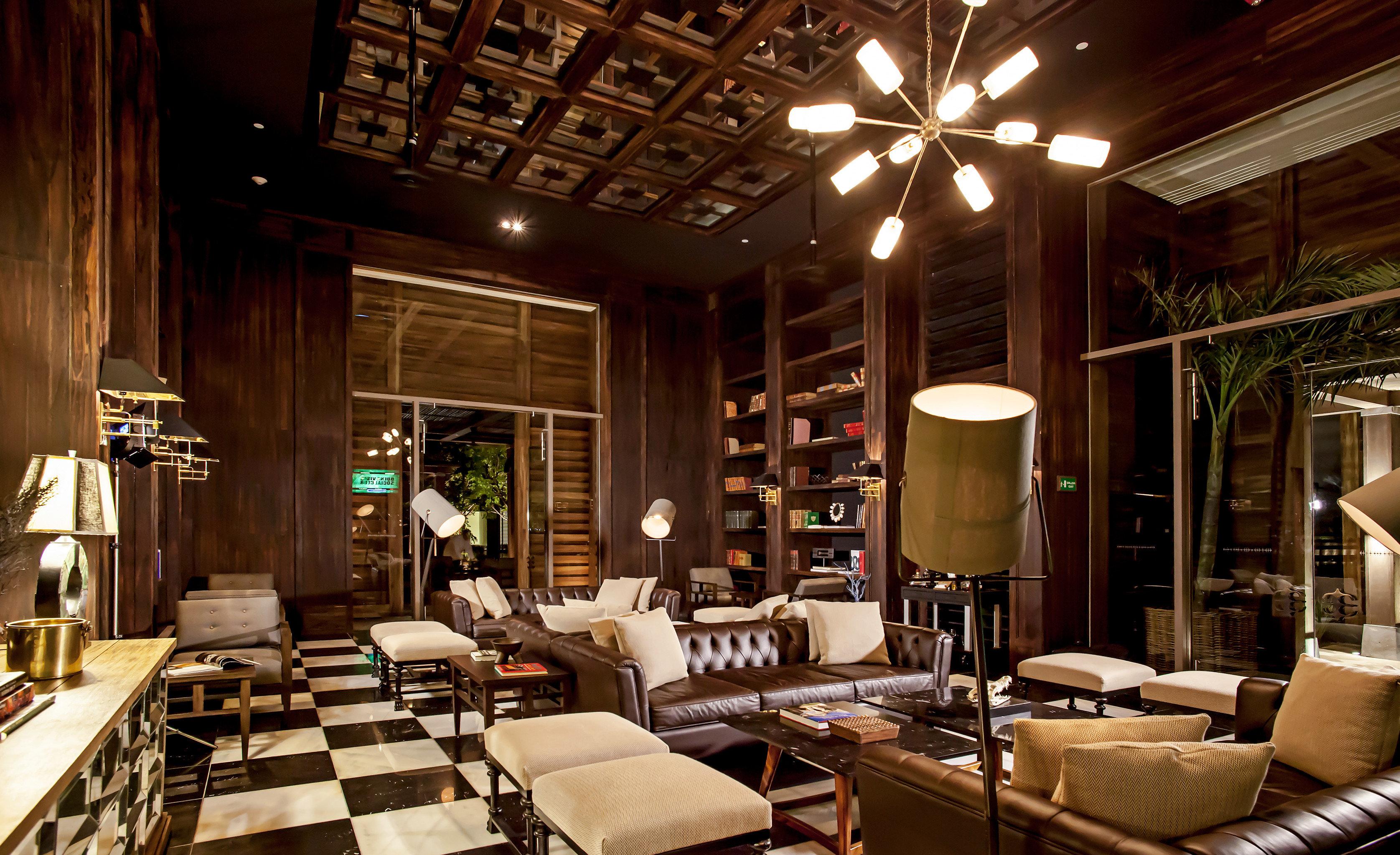 Bar Lounge Luxury Modern Lobby restaurant living room home lighting