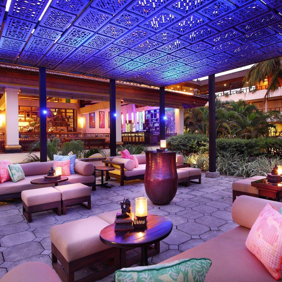 Lounge Luxury Modern property Lobby Resort living room home Bar Villa purple