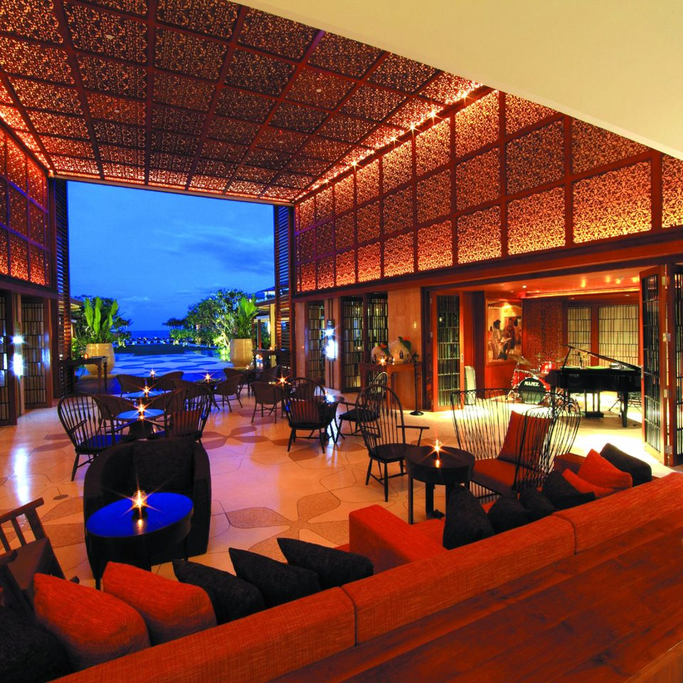 Lounge Modern Resort property house restaurant Lobby home Bar Villa hacienda