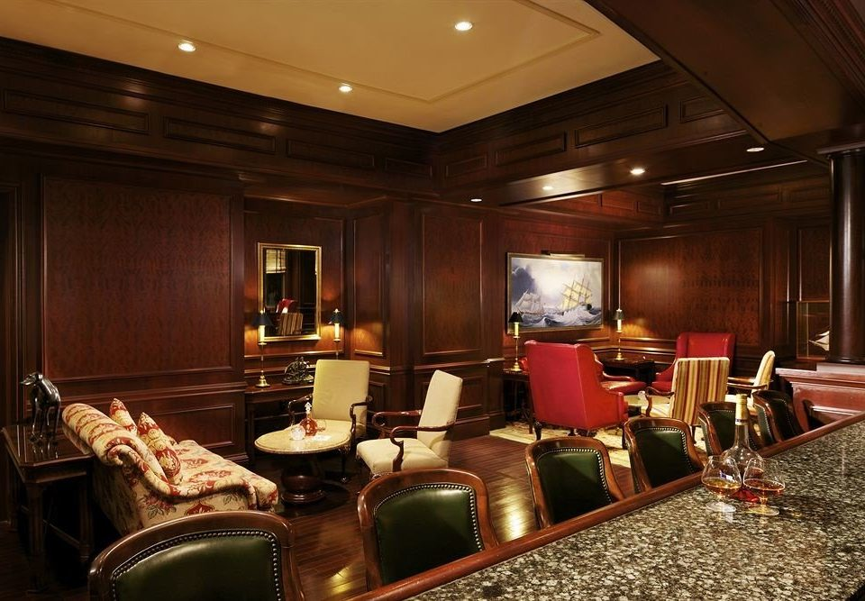 Bar Lounge vehicle recreation room yacht conference hall Lobby Suite living room function hall