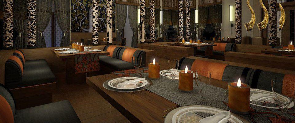 man made object Lobby restaurant Bar