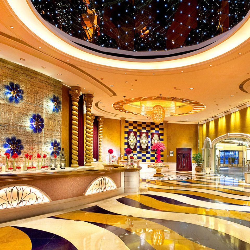Lobby Modern Resort function hall restaurant shopping mall Bar ballroom
