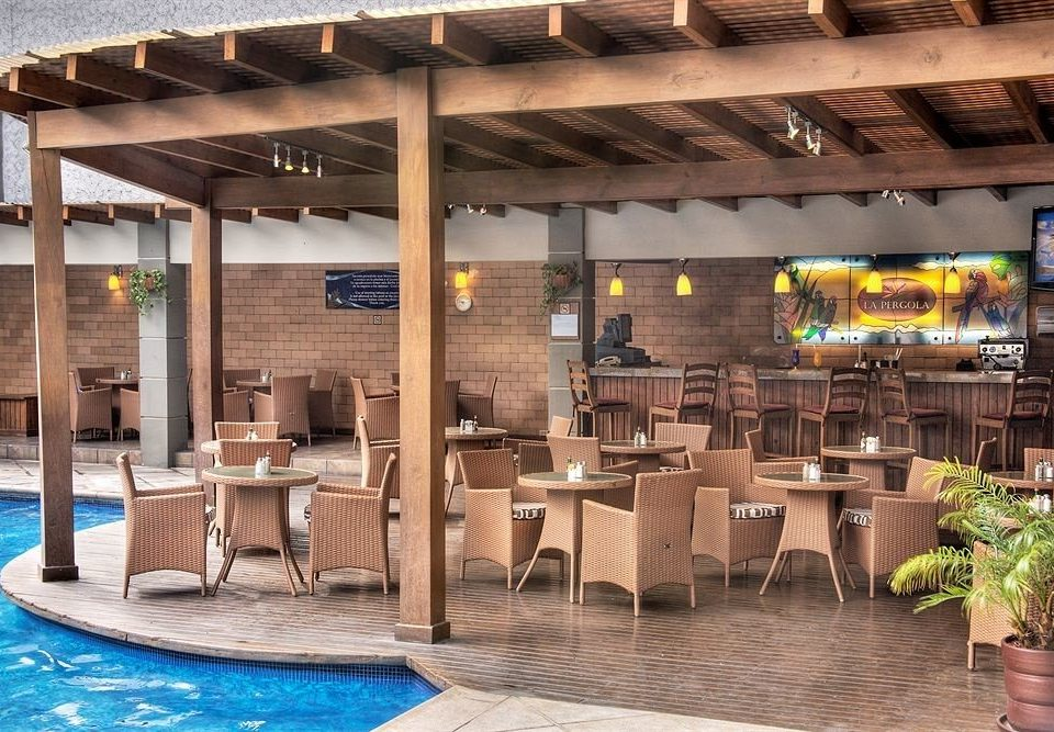 building chair leisure Resort restaurant Bar outdoor structure Lobby