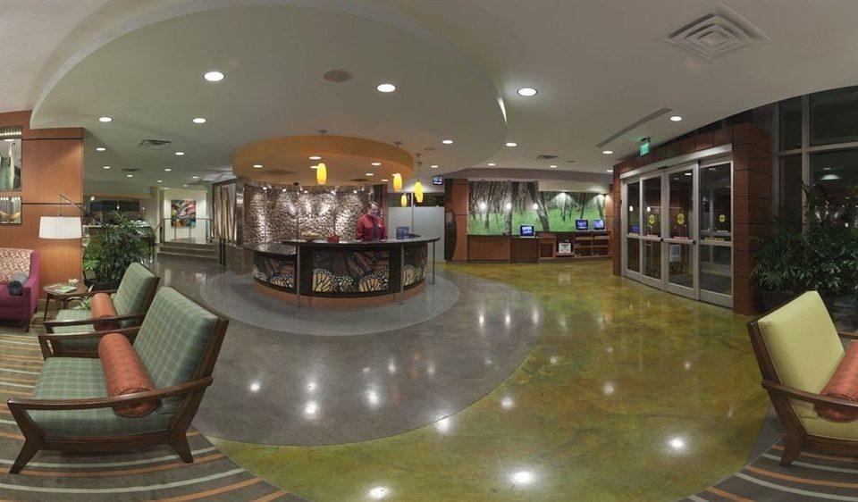Lobby building shopping mall Resort condominium mansion Bar leather