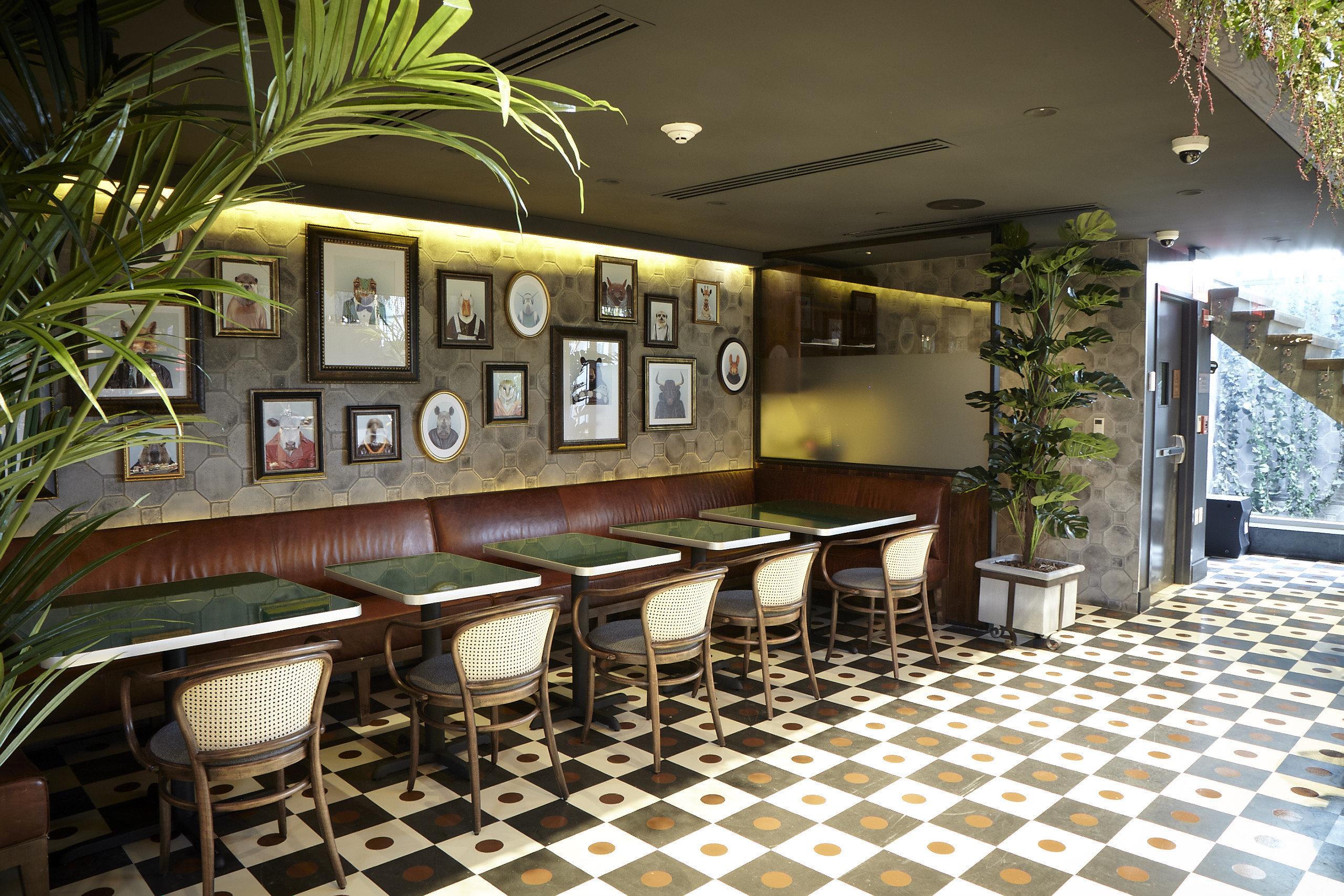 property restaurant Lobby Bar Resort function hall café tiled