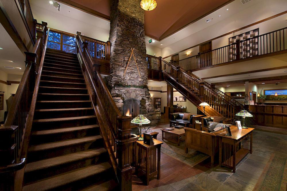 chair Lobby restaurant Bar Resort