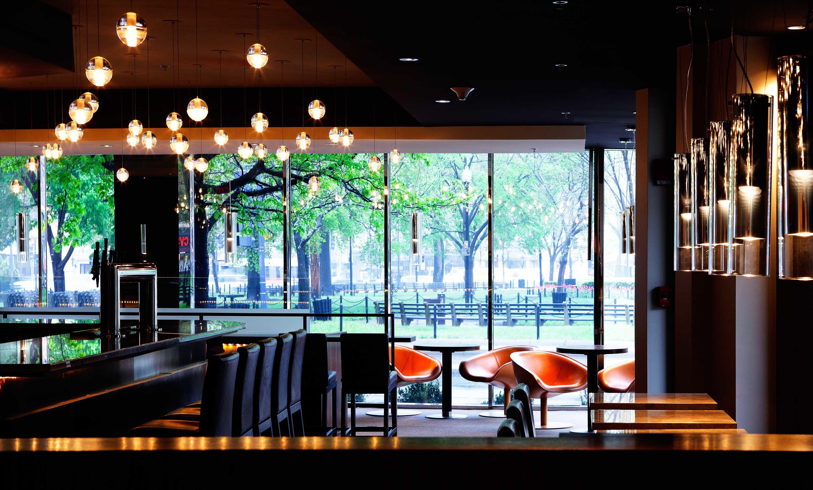 restaurant Bar Lobby lighting home Resort dining table