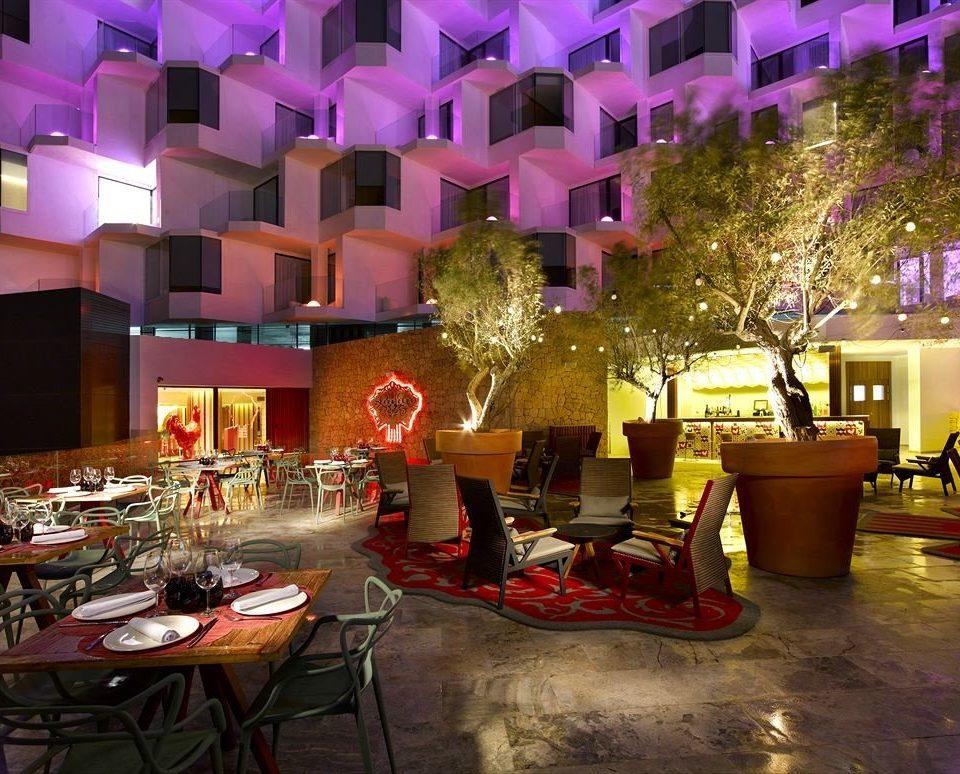 Lobby restaurant function hall Bar Resort