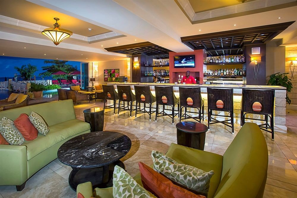 sofa Lobby recreation room property home living room Bar restaurant Resort leather