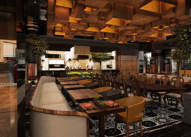 property Lobby restaurant Resort living room Bar recreation room