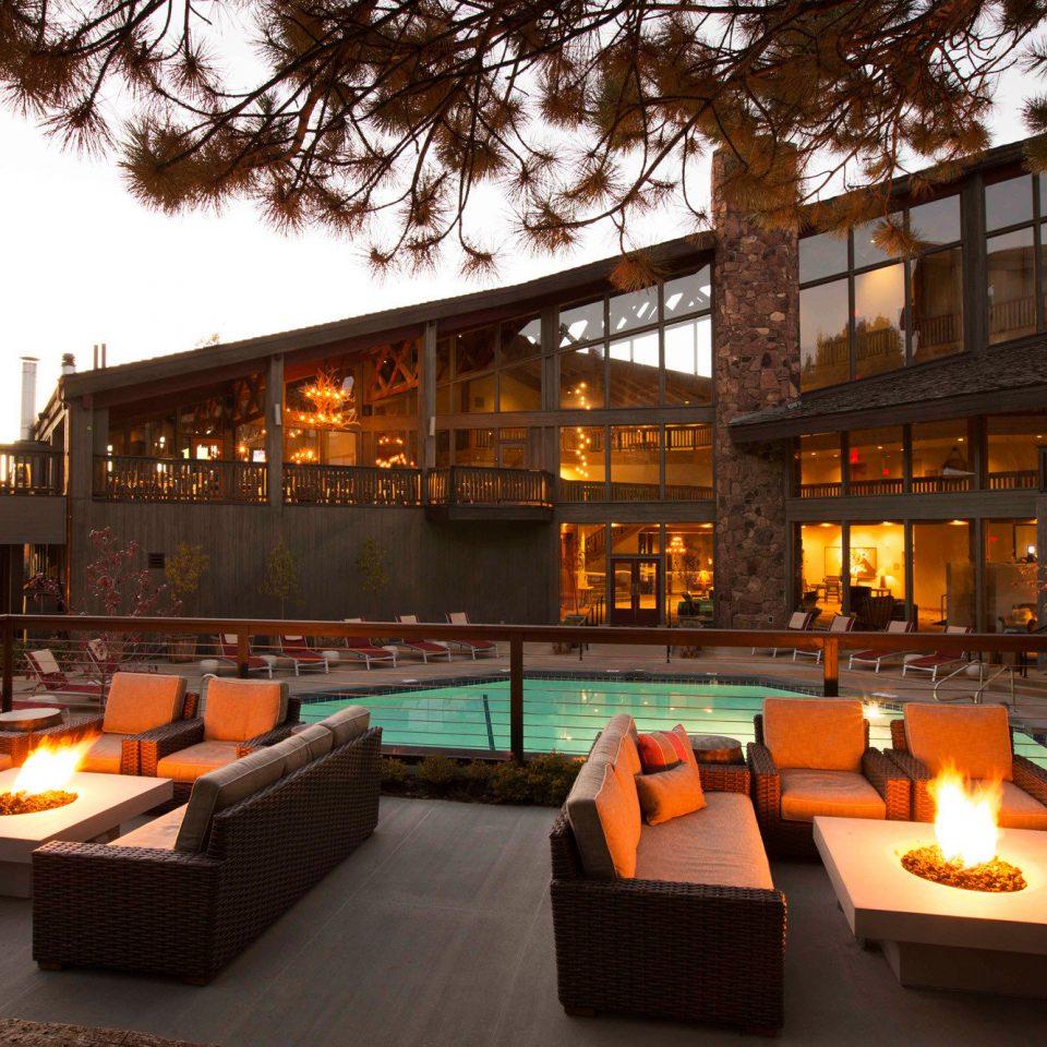tree property orange Resort restaurant Bar Lobby