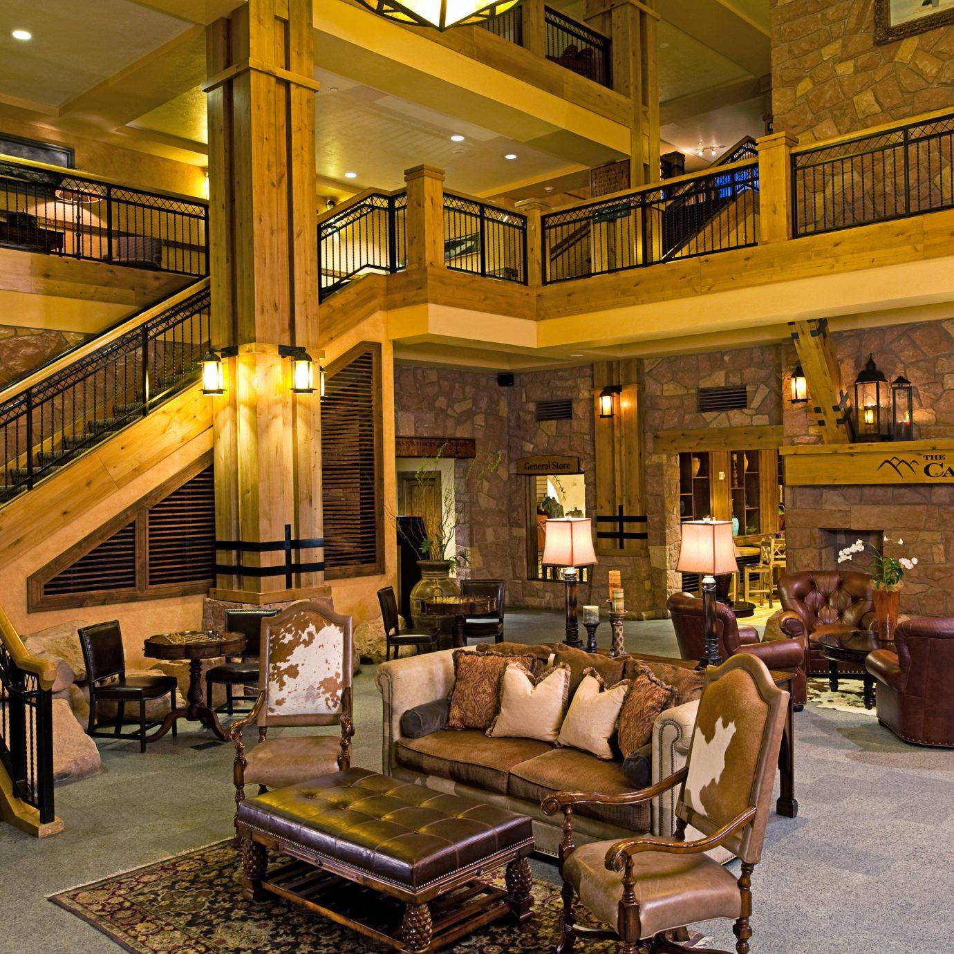Resort Rustic Lobby building restaurant Bar