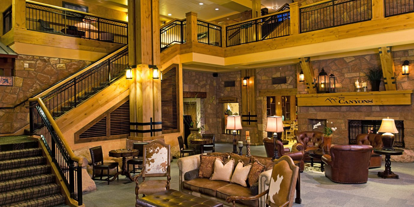 Resort Rustic Lobby building restaurant Bar