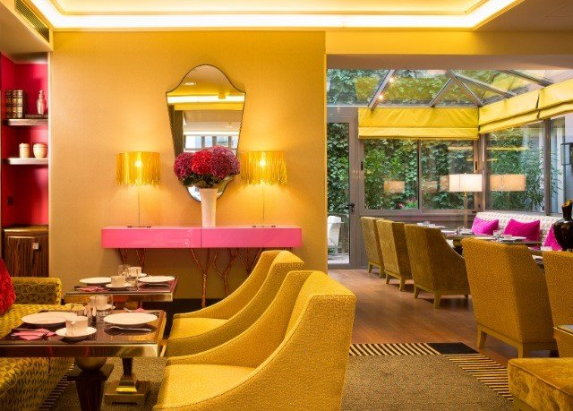 property yellow restaurant Resort Lobby Suite condominium Bar colored